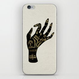 Palmistry iPhone Skin