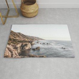 Big Sur   Monterey California Surfers Paradise Ocean Beach Landscape Wanderlust Photograph Rug
