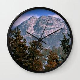 Mountain Views Wall Clock
