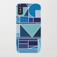 Kaku Blue iPhone X Slim Case