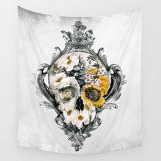 Skull Still Life Wall Tapestry