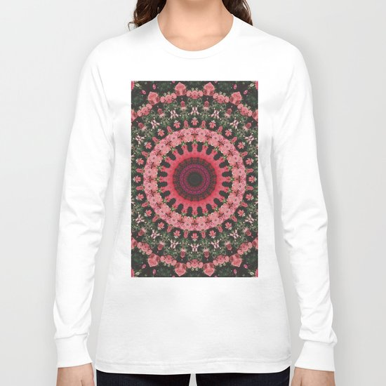 Spiritual Rhythm Mandala Long Sleeve T-shirt
