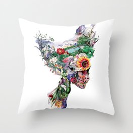 Don't Kill The Nature Throw Pillow