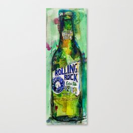 Rolling Rock Beer Canvas Print