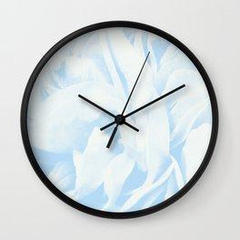 Light Blue Dream #3 #rose #floral #art #society6 Wall Clock