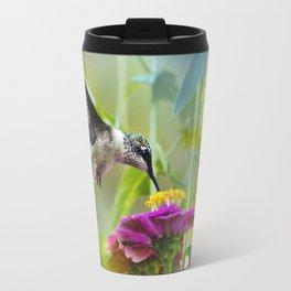 Sweet Hummingbird Travel Mug