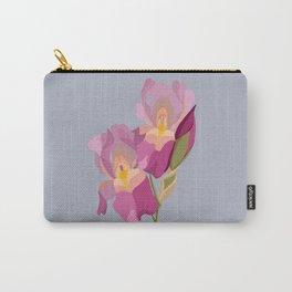 Irises 'Sandia' Carry-All Pouch