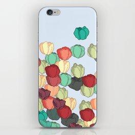 Tulip Field of Spring Pattern iPhone Skin