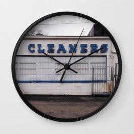 Cleaners Wall Clock