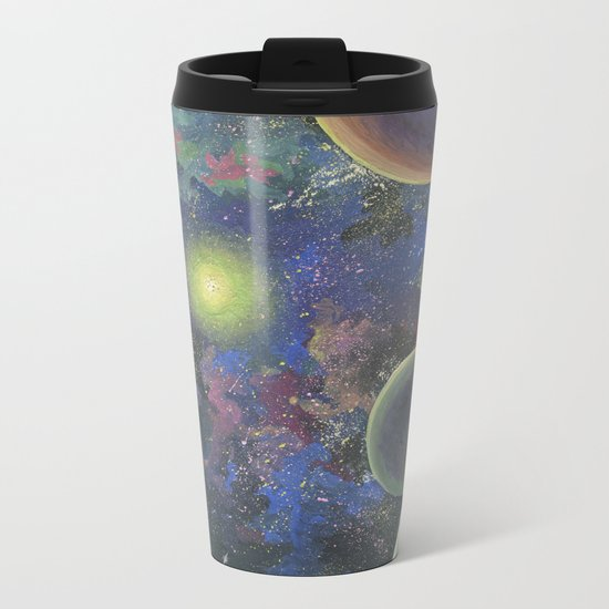 Galaxy. Order in chaos. Metal Travel Mug