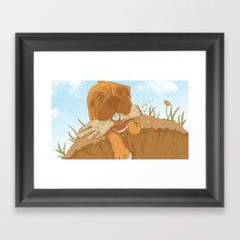 Treats! Framed Art Print