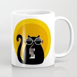 """Cats like sun"" by Qora & Shaï Coffee Mug"