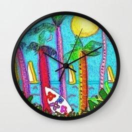 Jammin II Wall Clock
