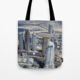 Dubai From The Air Tote Bag