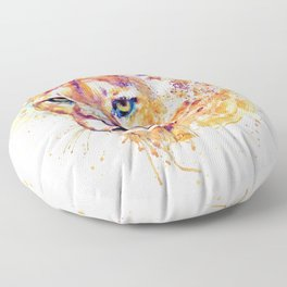 Cougar Head Floor Pillow