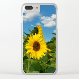 Sunflowers 11 Clear iPhone Case