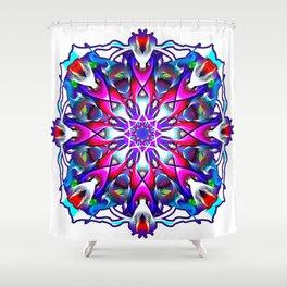 Mystery Number 1 Mandala Eye Candy Shower Curtain