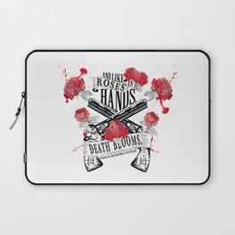 Illuminae - Death Blooms Laptop Sleeve