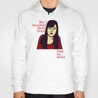 parks Hoodies featuring Parks April Thanks Alcohol by Kramcox
