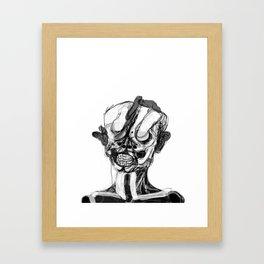 Memory Portrait I Framed Art Print
