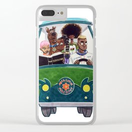 Melanin Machine Clear iPhone Case