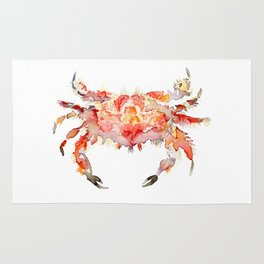 Corail crab Rug