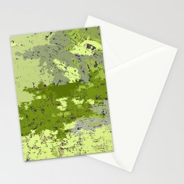 Almost Camouflage, Almost Military Map Stationery Cards