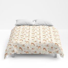 Wildflower Fawn Comforters