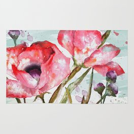 Poppies 05 Rug