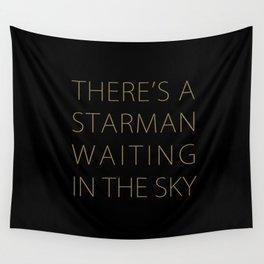 STARMAN #THIN GOLD Wall Tapestry