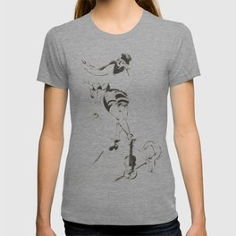 Marc Chagall, Acrobat with Violin 1924 Artwork, Posters Tshirts Prints Bags Men Women Kids T-shirt