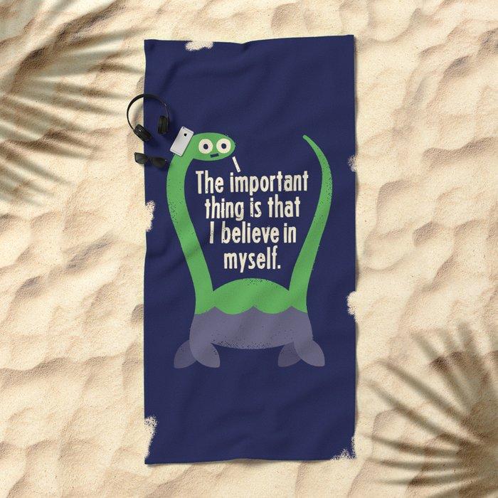 Myth Understood Beach Towel