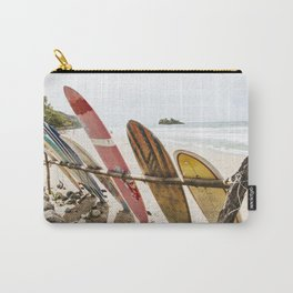 Surfing in Playa Cocles Carry-All Pouch