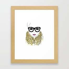 Alicia Frank Custom Framed Art Print