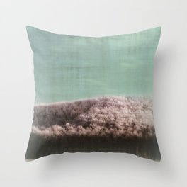 Abstract ~ Snowed landscape  Throw Pillow