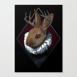 The Regal Jackalope Canvas Print