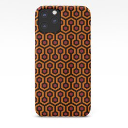 Shining Hotel Carpet Pattern iPhone Case