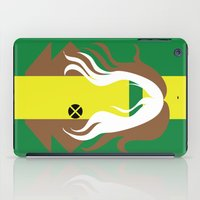 x men iPad Cases featuring Rogue - Minimalist - X-Men by Adrian Mentus