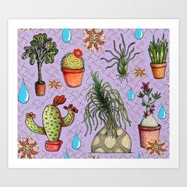 Botanical Sketches of Some Favorites  Art Print