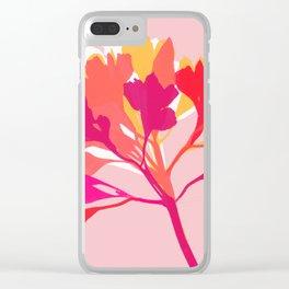 alstroemeria 3 Clear iPhone Case