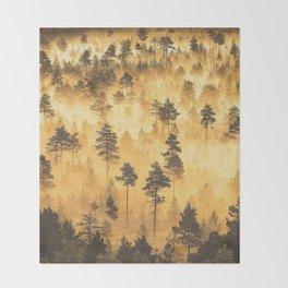 Torronsuo National Park Finland Throw Blanket