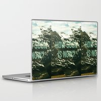 the smiths Laptop & iPad Skins featuring How soon is now? by ahutchabove