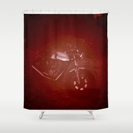 Helmut Wang Shower Curtain