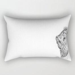 The Boreal Owl Rectangular Pillow