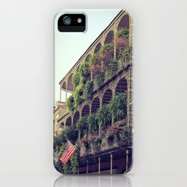 French Quarter Balconies - Royal Street iPhone Case
