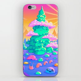 Blob Valley iPhone Skin