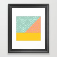 80's Abstract 1 Framed Art Print