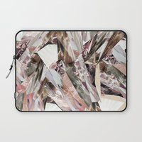 3d Laptop Sleeves featuring Arnsdorf SS11 Crystal Pattern by RoAndCo
