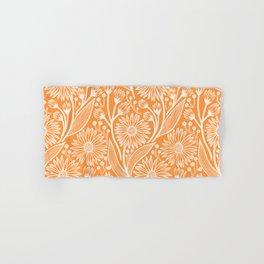 Sherbet Coneflowers Hand & Bath Towel