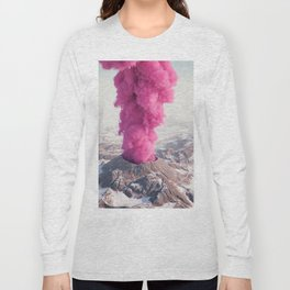 Pink Eruption Long Sleeve T-shirt